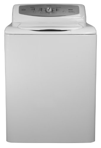 Haier RWT350AW 3.1 Cubic Feet Top Load Agitator Washer, White
