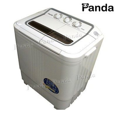 Panda Small Compact Portable Washing Machine(6-7lbs Capacity) with Spin Dryer