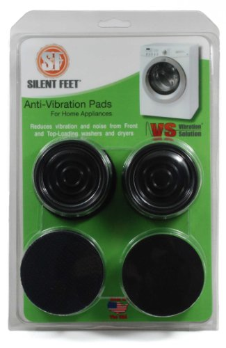 Silent Feet – Anti-Vibration Pads for Washing Machines and Dryers