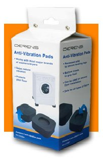 Anti-Vibration Pads for Washers and Dryers