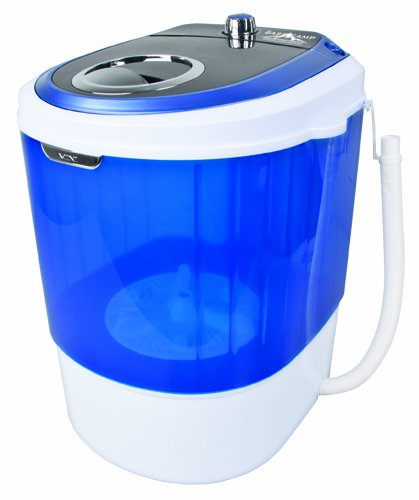 Basecamp by Mr. Heater Single Tub Washing Machine (White/Blue)