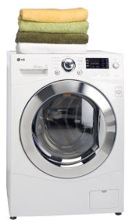 LG 2.7 CF Combo Washer-Dryer in White