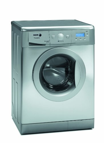 Fagor FAS3612X 24-Inch Washer/Dryer Combination with 16 Program Settings/13-Pound Capacity, Silver