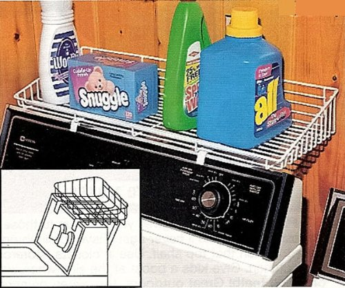 Over the Washer or Dryer Storage Wire Shelf