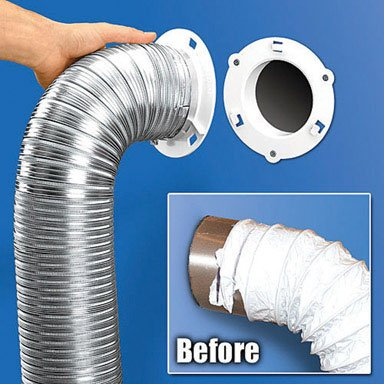 Dryer Dock Vent Hose Quick Connect